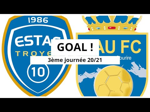 Troyes Pau Goals And Highlights