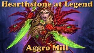 Hearthstone at Legend - Aggro Mill Rogue - Season 3 - #9
