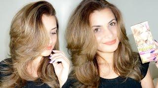 pintando o cabelo louro mdio acinzentado cor intensa garnier