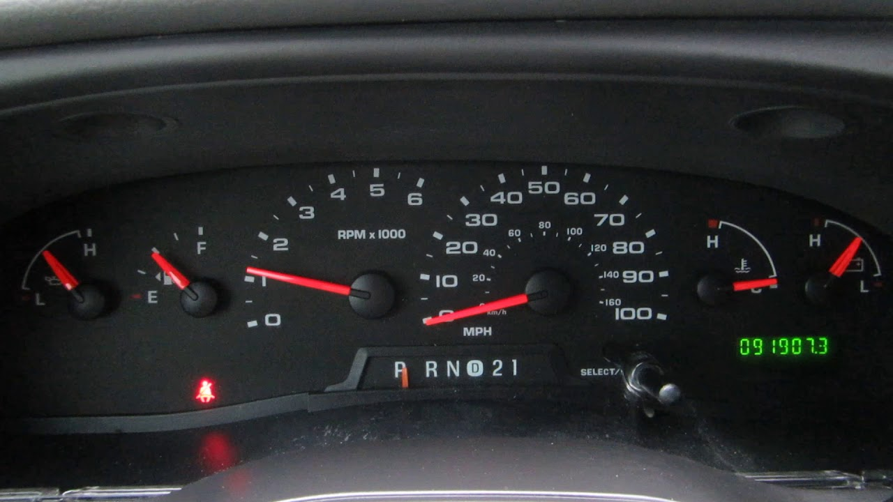 2008 ford e250 instrument cluster