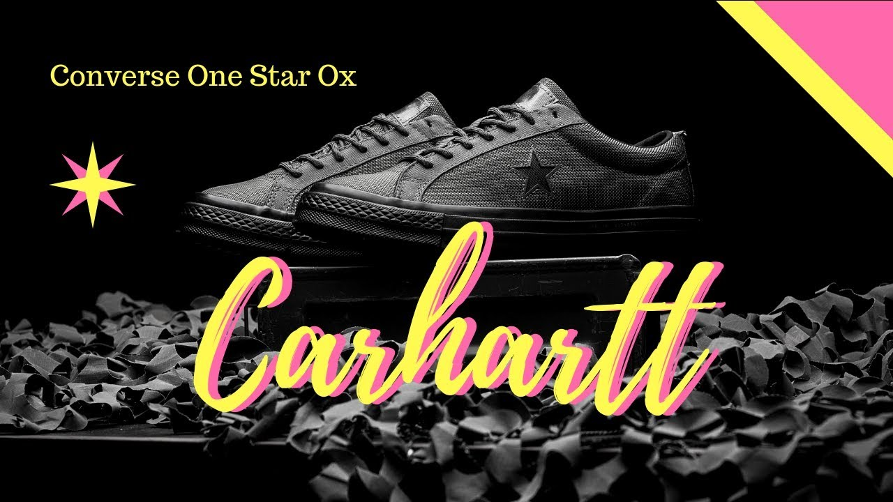 Carhartt Ox Converse Amazing Star Cordura 3 Colorway Design One DE9IH2