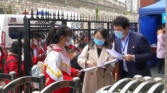 China: Schulen teilweise wieder geöffnet