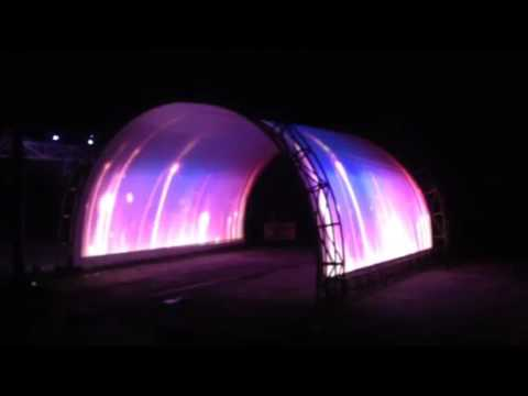 Tunnel mapping projection
