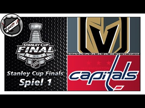 NHL STANLEY CUP FINALS 2018 - Vegas Golden Knights - Washington Capitals (Spiel 1) ★ Commentary