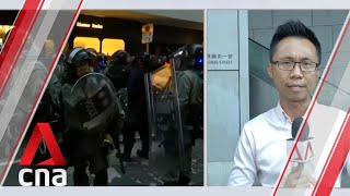 Hong Kong protests: Police address brutality claims