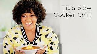 Tia Mowry's Slow Cooker Chili Recipe   Quick Fix