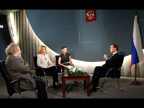 Interview by Dmitry Medvedev