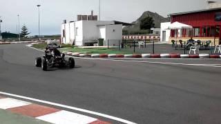 banshee superquad (circuito aguilas karting club)