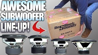 Entry Level & EXTRA LARGE Subwoofers w/ Resilient Sounds Car Audio Subwoofer Review  | 10