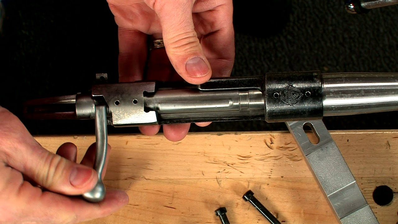 gunsmithing how to chamber a mauser short chambered barrel youtube