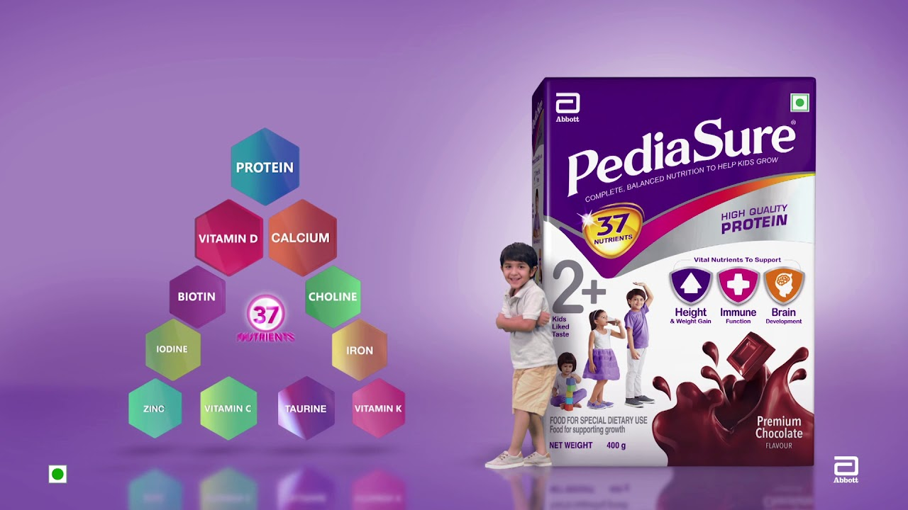 PediaSure   37 Vital Nutrients   Hindi