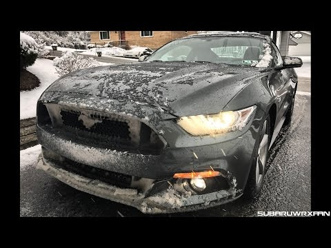 How the Mustang GT Handles Snow and This Week's News! Weekly Update