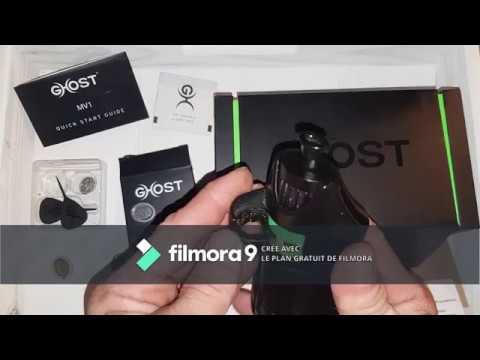 GHOST MV1 Black stealth Edition. Présentation, test et avis du vaporisateur / vaporizer  GHOST MV1