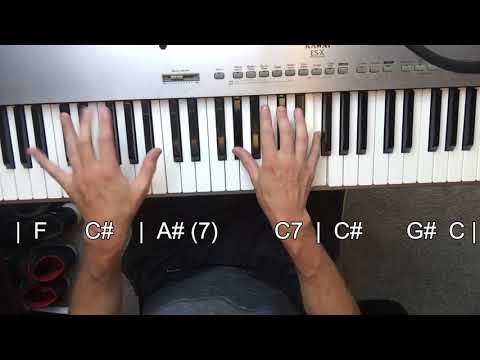 Dear Life - Beck (piano tutorial)