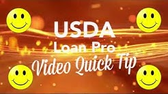 What are five goals you need to have when qualifying for a USDA loan?