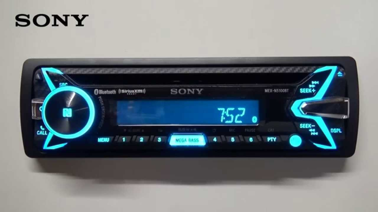 Setting The Clock Youtube Sony Xplod Cd Player Wiring Cdx Gt575up Get Free Image About
