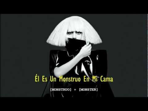 Monster - Lady GaGa (Traducción - Español)