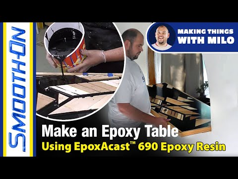 How To Make an Epoxy Table Using EpoxAcast™ 690 Clear Epoxy Resin
