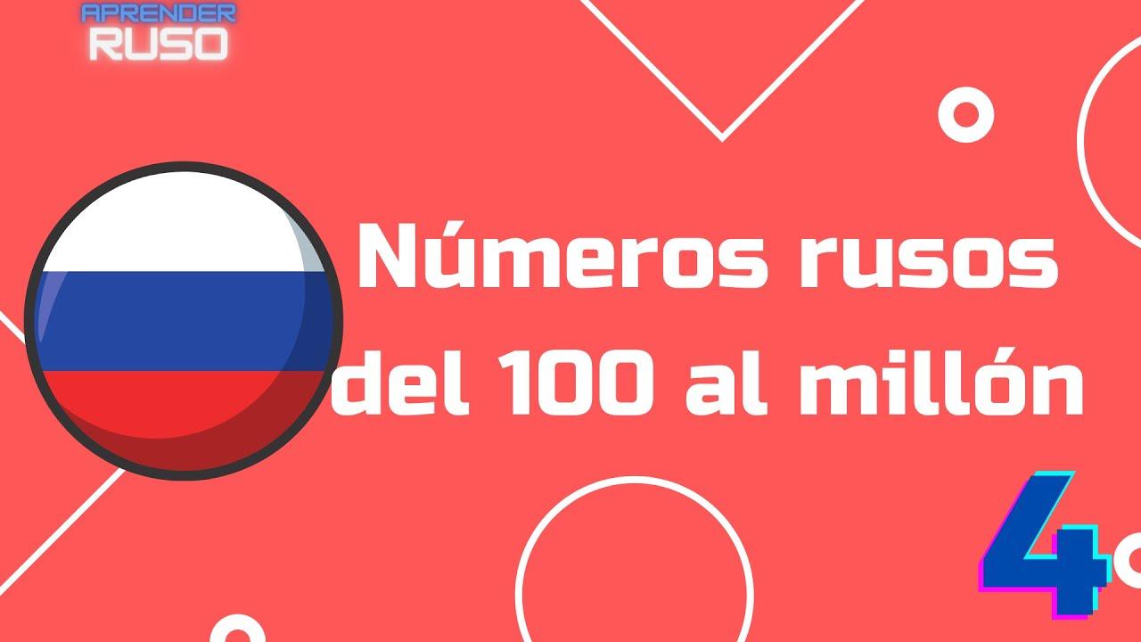 Números en ruso de 100 al millón   Cómo contar en ruso