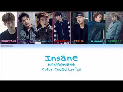 [HAN|ROM|ENG] BTOB - Insane (Acoustic) Lyrics