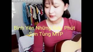 [Guitar cover] Bình Yên Những Phút Giây - Sơn Tùng MTP