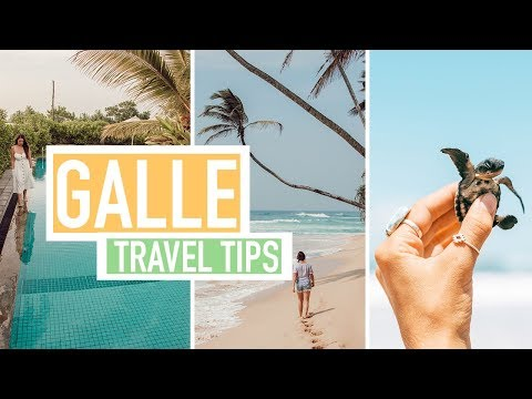 GALLE, SRI LANKA | Transportation Cost, Tourist Traps & Attractions