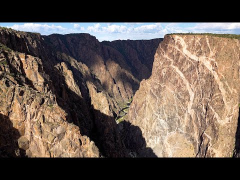 Black Canyon of the Gunnison National Park, Colorado, USA in 4K Ultra HD