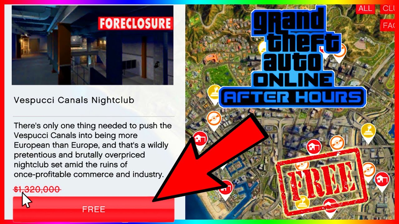 how to get the nightclub for free