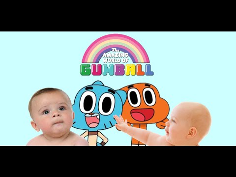 Promo BABYS REACT TO THE AMAZING WORLD OF GUMBALL