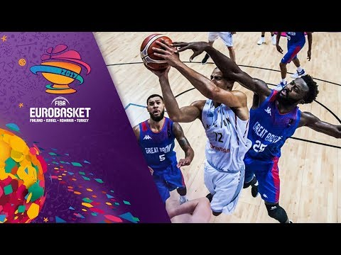Belgium v Great Britain - Highlights - FIBA EuroBasket 2017