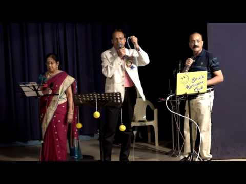Ina meena dika -DR.Dineshbhai Shrimankar And Dr.Ranjanaben Shrimankar-SMILE KARAOKE CLUB