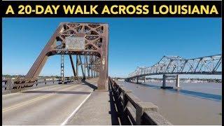 Walking Across Louisiana: State Walk 6/50