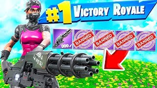 FORTNITE MA HAI SOLO UN'ARMA! *BATTLE ROYALE*