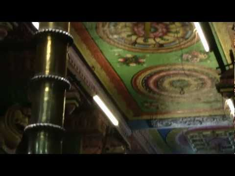 Madurai Meenakshi Temple- interior art