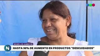 PRECIOS DESCUIDADOS LOS PRODUCTOS QUE YA NO TIENEN PRECIOS CUIDADOS AUMENTARON HASTA 90%