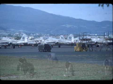 Lajes Field the Azores, Flight Line, 1980 - 1983