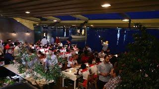 Οικογενειακό δείπνο για Ολυμπιακό και Νότιγχαμ / Olympiacos' and Nottingham Forest's family dinner