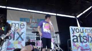 You Me At Six -Finders Keepers warped tour 09