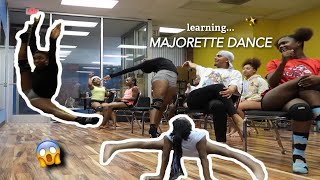 LEARNING MAJORETTE DANCE