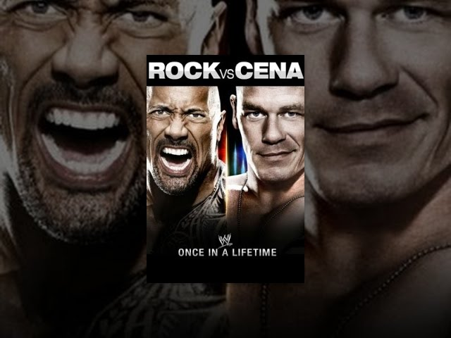 WWE Rock vs. Cena Once In A Lifetime Travel Video