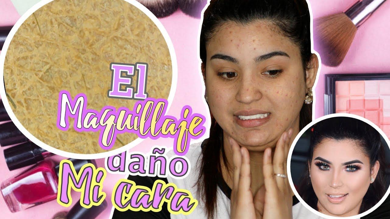 Daño mi Cara el maquillaje? La verdad de mi acne, manchas e imperfecciones - Roccibella