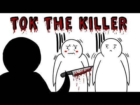 TOK THE KILLER 🔪 |  El creepypasta de TikTak Draw 🎃 Especial Halloween 2018