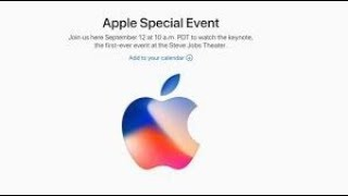 Apple September, 2017 Key Note at the Steve Jobs Theater Full, 1080p