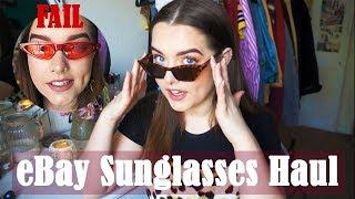 eBay Sunglasses Haul/Review 2018