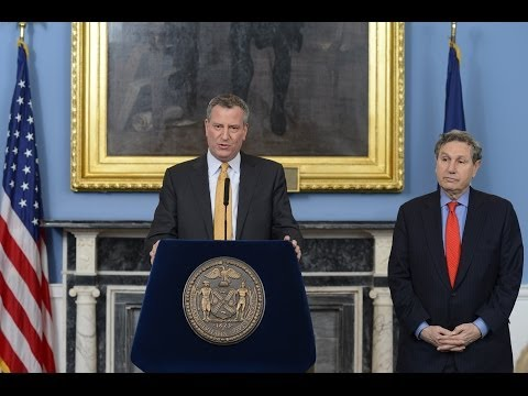 Mayor Bill de Blasio Appoints Carl Weisbrod as Chair of the City Planning Commission