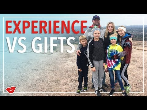 Experiences VS Gifts! | Eden From Millennial Moms