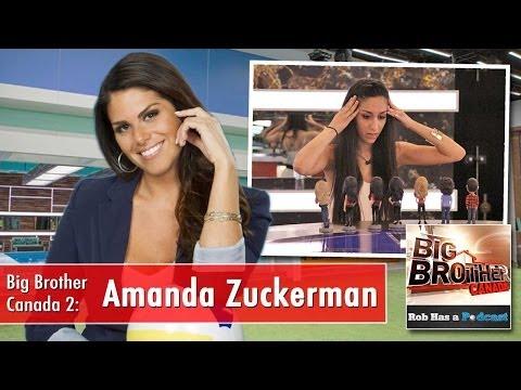Amanda Zuckerman on the Big Brother Canada 2014 Instant Eviction Recap