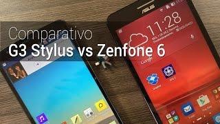Comparativo: G3 Stylus vs Zenfone 6 | Tudocelular.com