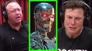 Joe Rogan - Elon Musk confirms Alex Jones theories