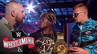 R-Truth finds 24/7 Title trouble when he runs into Rob Gronkowski & Mojo Rawley: WrestleMania 36